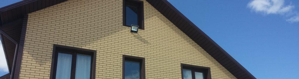 Фасадные панели под кирпич БрикПанель