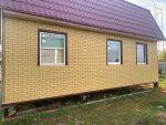 Фасад панели желтый кирпич Steindorf 4
