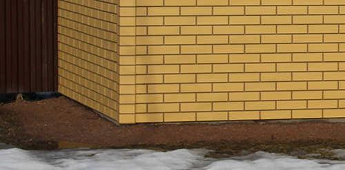 фасадная панель Steindorf окраска в массе