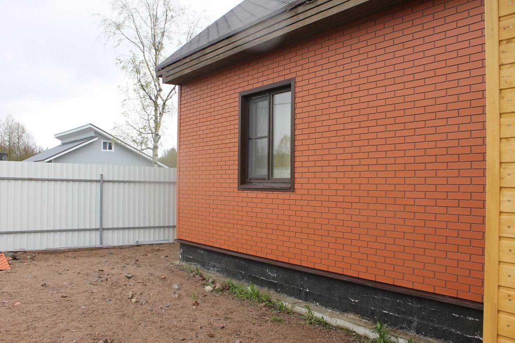 фасадные панели красный кирпич Brick Panel