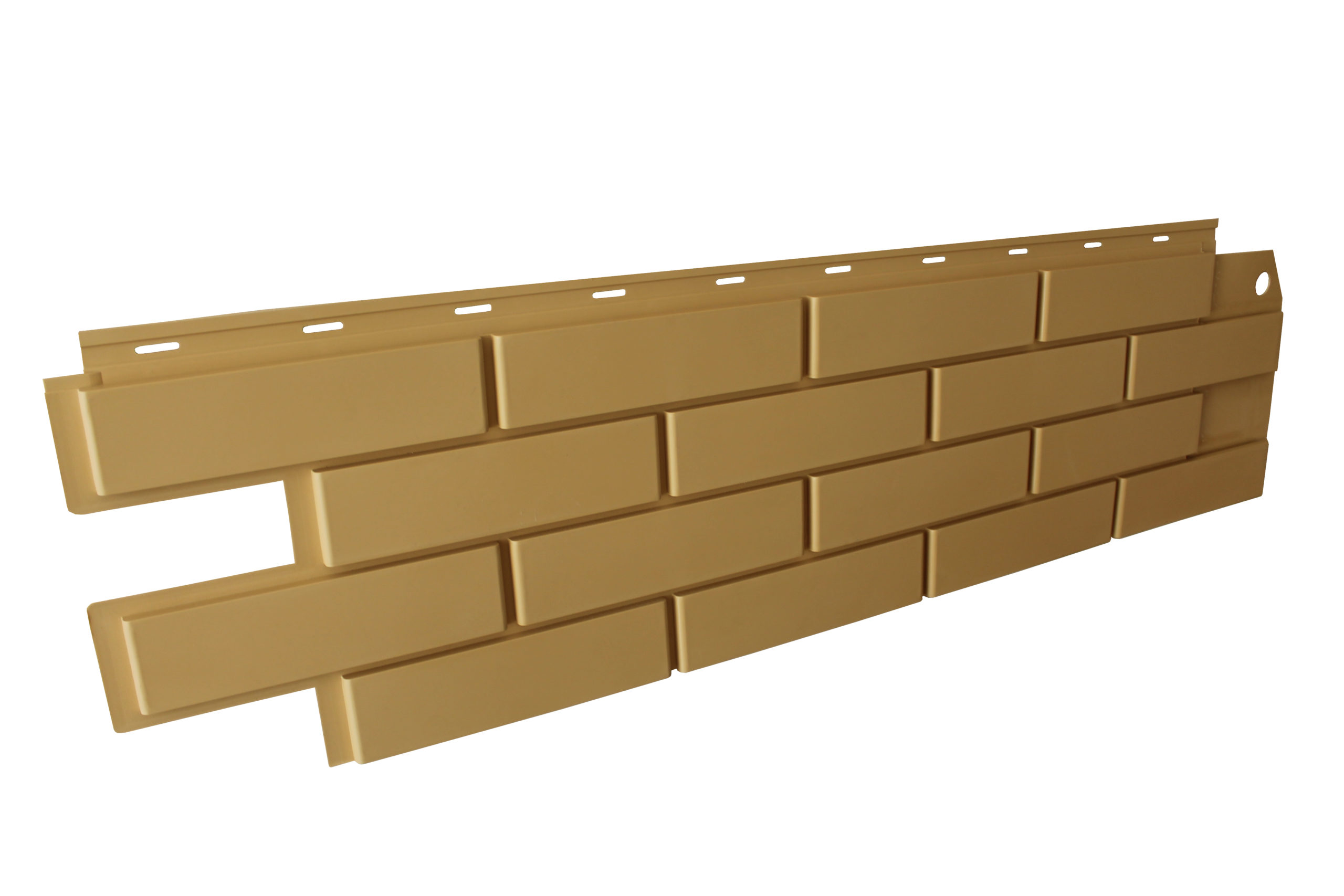 Фасадная панель Brickpanel желтый кирпич